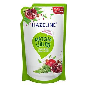 Sữa Tắm Hazeline Dưỡng Sáng Da Matcha Và Lựu Đỏ (Túi 1kg)