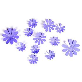 Giấy Dán Tường Hình Bông Hoa 3D (12 Cái)