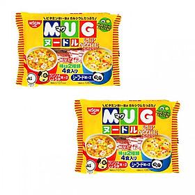 Combo 2 gói mì MUG Nhật Bản cho bé - vị hải sản