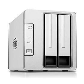 TerraMaster F2-210 Quad-core CPU, 1GB RAM, 2 khay ổ cứng - Hàng nhập khẩu