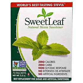 Đường ăn kiêng cỏ ngọt 70 gói - Sweetleaf stevia sweetener tự nhiên