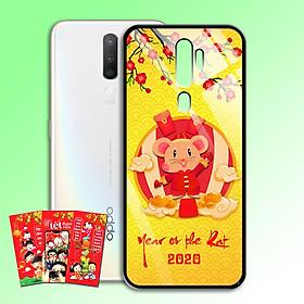 Ốp Lưng Kính Cường Lực cho điện thoại Oppo A5 2020 - 0382 7956 HPNY2020 10 - Tặng kèm bao lì xì Chúc mừng năm mới - Hàng Chính Hãng
