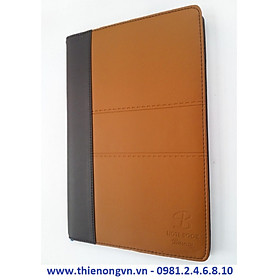 Sổ giả da Bureau A4 - 200 trang; Klong 330M bìa vàng