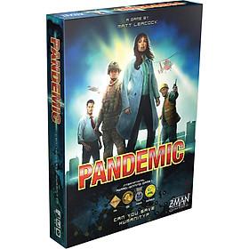 Trò Chơi Board Game Phối Hợp Pandemic - Đại Dịch Toàn Cầu Tiếng Anh Chuẩn Global