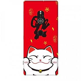 Ốp lưng dành cho điện thoại SONY XZ2 Mèo Thần Tài Mẫu 5