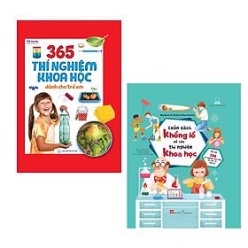 Combo (2 Cuốn) Sách Kiến Thức Bách Khoa Bổ Ích Cho Bé: 365 Thí Nghiệm Khoa Học Dành Cho Trẻ Em + Cuốn Sách Khổng Lồ Về Các Thí Nghiệm Khoa Học (Với Hơn 100 Thí Nghiệm Đơn Giản Và Cực Kỳ Thú Vị!)