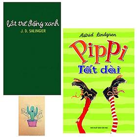 Combo Bắt Trẻ Đồng Xanh và Pippi Tất Dài (Tặng Kèm Sổ Tay)