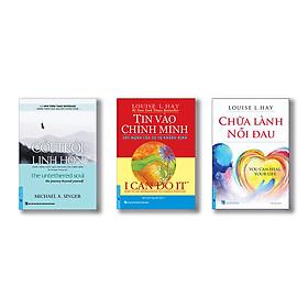 Bộ sách chữa lành (Chữa lành nỗi đau + Tin vào chính mình + Cởi trói linh hồn)