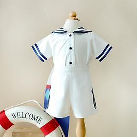 Bộ áo kèm quần bé trai Chaiko House X49
