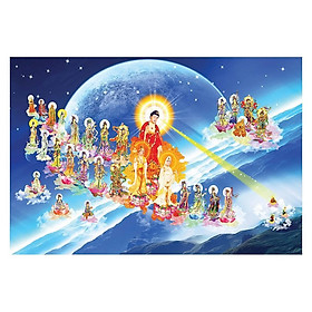 Tranh Phật Giáo Tây Phương Tiếp Dân 557