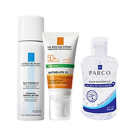 Bộ sản phẩm chống nắng kiểm soát bóng nhờn La Roche-Posay Anthelios Dry Touch