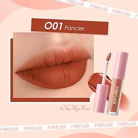1 lipstick cream pinkflash moisturizing lip waterproof 30g t7qc
