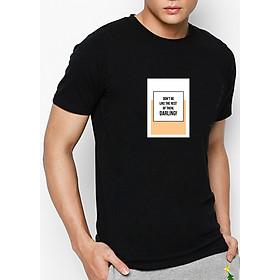Hình đại diện sản phẩm Áo Thun Nam In Hình Do Not Be Like The Rest Of Them - Đen