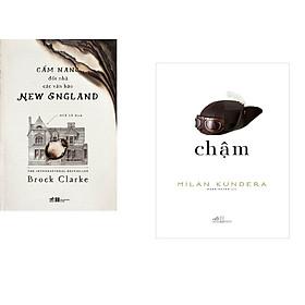 Combo 2 cuốn sách: Cẩm nang đốt nhà các văn hào + Chậm