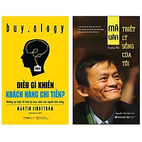 Combo Sách : Điều Gì Khiến Khách Hàng Chi Tiền - Những Sự Thật Về Tâm Lý Mua Sắm Của Người Tiêu Dùng + Mã Vân - Triết Lý Sống Của Tôi