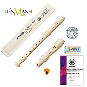 Sáo Recorder Soprano Yamaha YRS-24B Tone C (Đô) - Kèm Móng Gảy DreamMaker