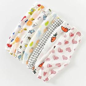 Quần chục dài cotton giấy cho bé trai và bé gái