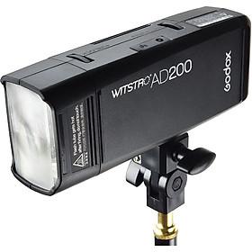 Đèn Godox AD200 Pocket Fash TTL - Hàng nhập khẩu