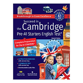 Succeed In The Cambridge Pre-A1 Starters English Test (Kèm CD)
