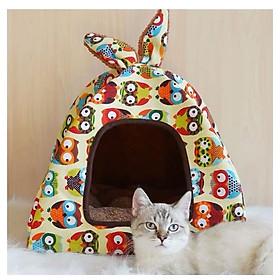 Nhà nệm tiện dụng cho chó mèo