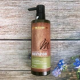 Dầu gội Masaroni Rich Biotin Hydro Collagen Shampoo phục hồi siêu mượt tóc Canada 500ml