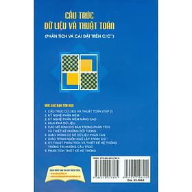Cấu Trúc Dữ Liệu Và Thuật Toán (Phân Tích Và Cài Đặt Trên C/C++) - Tập 1