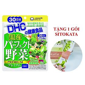 Viên uống DHC Rau Củ Quả Tổng hợp Premium 30 Ngày (Tặng 1 Gói Bột Cần Tây Sitokata)