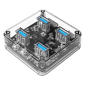 Bộ Hub Chia 4 Cổng USB 3.0 Orico MH4U - Hàng chính hãng