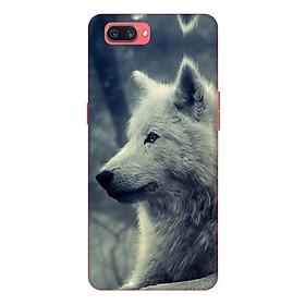 Ốp lưng điện thoại Realme C1 hình Chó Sói Mẫu 1