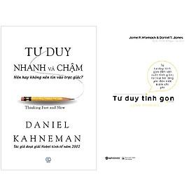 Combo Sách Tư Duy Tinh Gọn + Tư Duy Nhanh Và Chậm