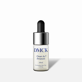 Tinh chất làm sạch da, ngăn ngừa mụn, làm dịu da DMCK Clean AC Ampoule (10ml)