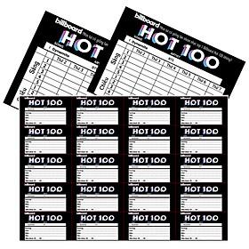 BTS Billboard Hot 100 Set 40 Nhãn vở và 2 thời khoá biểu