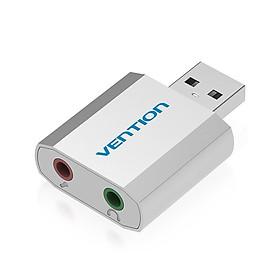 Đầu chuyển đổi USB to 2 cổng 3.5mm Vention VAB-S13 - Hàng nhập khẩu