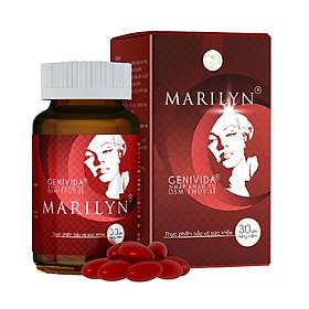 Viên Uống Cân Bằng Nội Tiết Tố, Cải Thiện Sinh Lý Nữ Marilyn (Hộp 30 viên)
