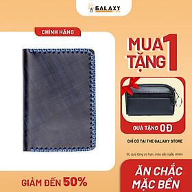 Ví Bóp Nhỏ Nam Nữ Handmade Da Thật Galaxy Store GVM10 - Hàng Chính Hãng