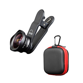 Two in One 16mm Wide Lens + 12X Macro Lens Set Clip-on Phone Camera Lens Add-on Lenses Kit HD Camera Lens Compatible