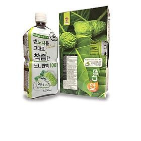 Thùng 12 chai Nước ép trái nhàu K2 Goat Milk 1000ml