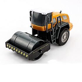 Xe đồ chơi mô hình xe lu DLX chi tiết sắc sảo, nhựa ABS an toàn (hàng nhâp khẩu)