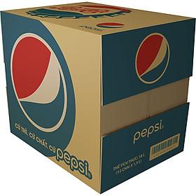 Thùng 12 Chai Nước Giải Khát Pepsi Cola 1,5L