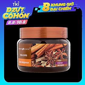 Gel quế hồi tẩy tế bào chết cơ thể Eksklyuziv Kosmetik gel scrub coffee cinanmon cloves 380 gr