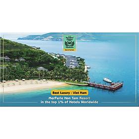 MerPerle Hòn Tằm Resort 5* Nha Trang - Gói 3N2Đ Ăn 05 Bữa, Tắm Bùn, Vui Chơi, Nhiều Ưu Đãi Cực Hấp Dẫn