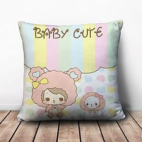 Gối Vuông Baby Cute GVCT216 (36 x 36 cm)