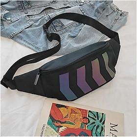 Túi xách đeo chéo nam nữ phản quang phong cách Hàn Quốc Mituza TX36