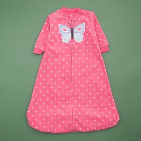 túi ngủ hồng chấm bi xinh xắn cho bé