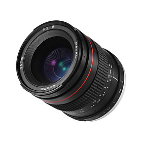 35mm F2.0 Wide Angle Manual Focus Prime Lens Full Frame SLR Lens Low Dispersion for Nikon F Mount D7000 D7100 D200 D300