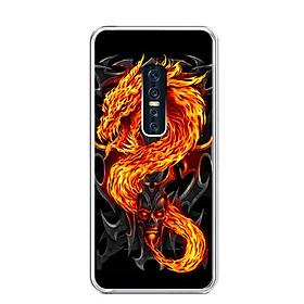 Ốp lưng dẻo cho điện thoại Vivo V17 Pro - 0218 FIREDRAGON - Hàng Chính Hãng