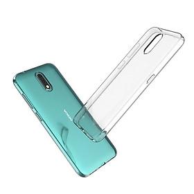 Ốp lưng dành cho Nokia 2.3 chất liệu silicon dẻo trong cao cấp
