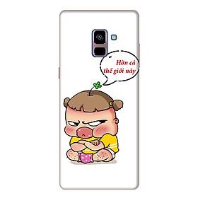Ốp Lưng Dành Cho Samsung Galaxy A8 Plus 2018 Quynh Aka 2