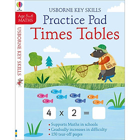Key Skills Practice Book: Times Tables 5-6