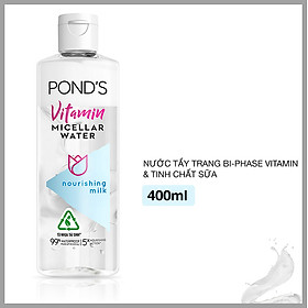 Nước Tẩy Trang Bi-Phase Vitamin Và Tinh Chất Sữa  Pond's Micellar Water